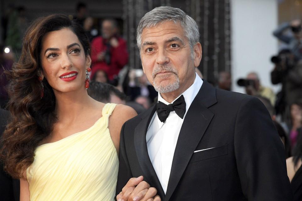 У Джорджа Клуни и его супруги Амаль на свет появилась двойня.