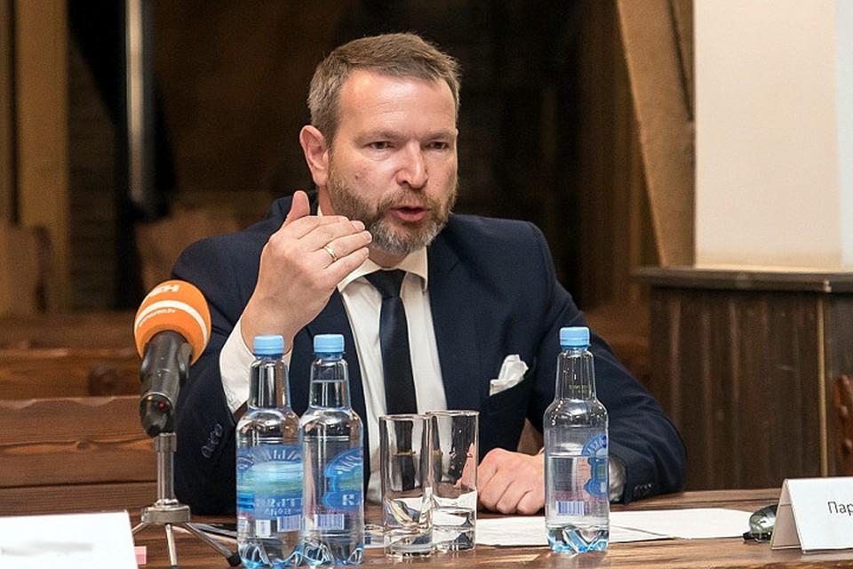 """Лидер движения """"Чего хочет Тверь"""" Павел Парамонов."""