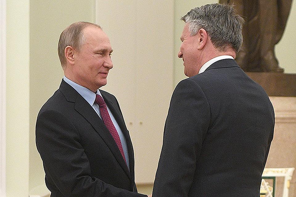 Президент РФ и Бен ван Берден обсудили строительство «Северного потока-2»