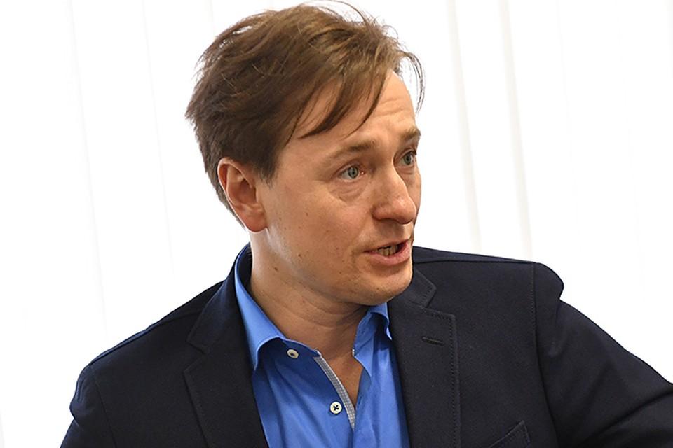 В пресс-конференции принял участие художественный руководитель Московского Губернского театра Сергей Безруков