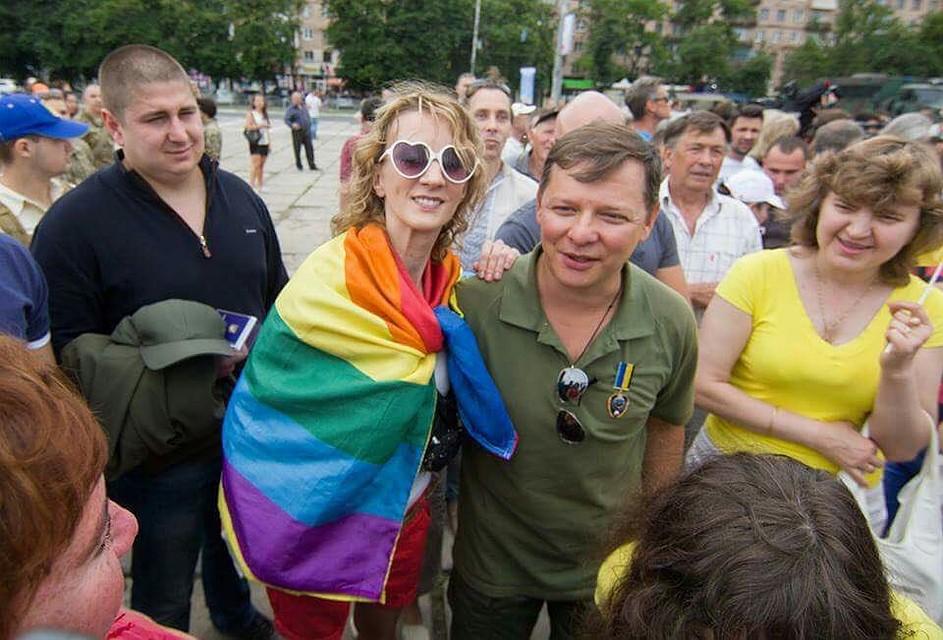 В каховском районе есть геи