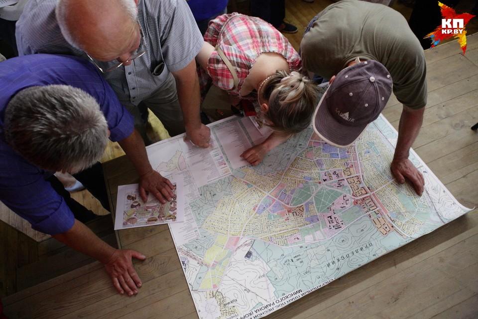 В Генплан собираются вносить изменения, но жители узнают об этом случайно