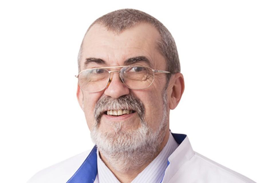 Доктор медицинских наук, профессор, зав. кафедрой инфекционных болезней медицинского университета имени Пирогова - Никифоров Владимир Владимирович