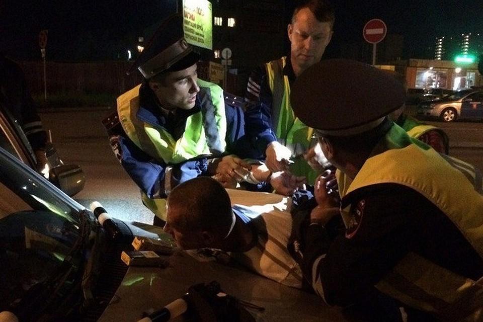 Завыходные вКрасноярске задержали неменее 60 нетрезвых водителей