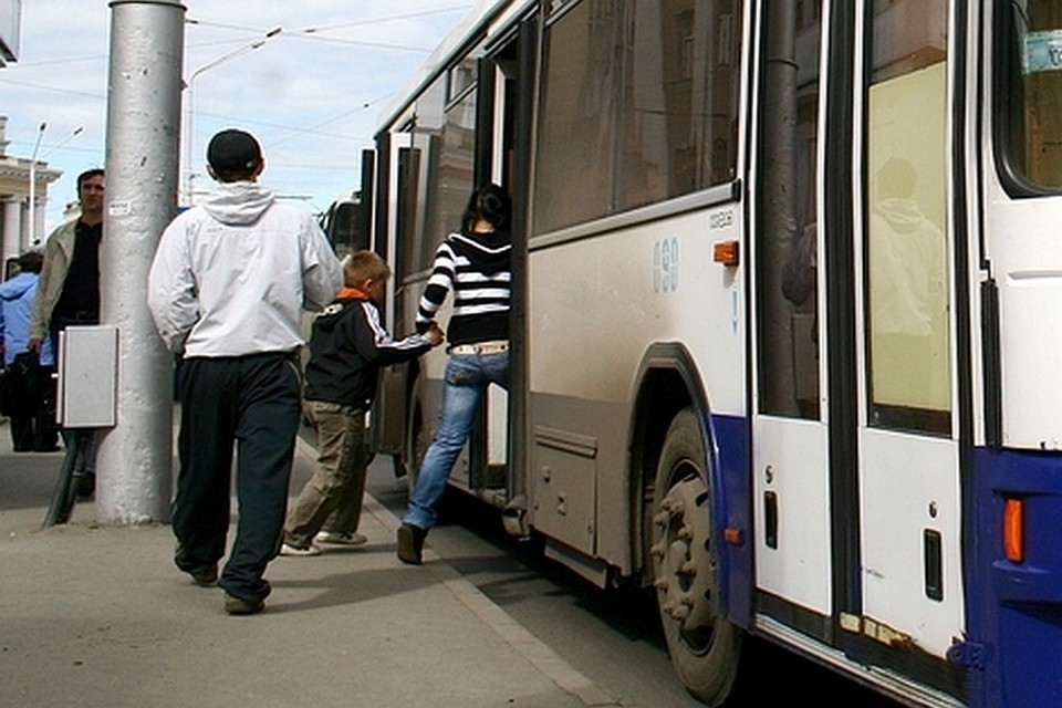 Автобус сексуальных домогательств