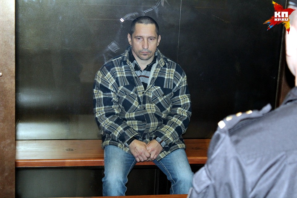 Сергей Егоров в суде.