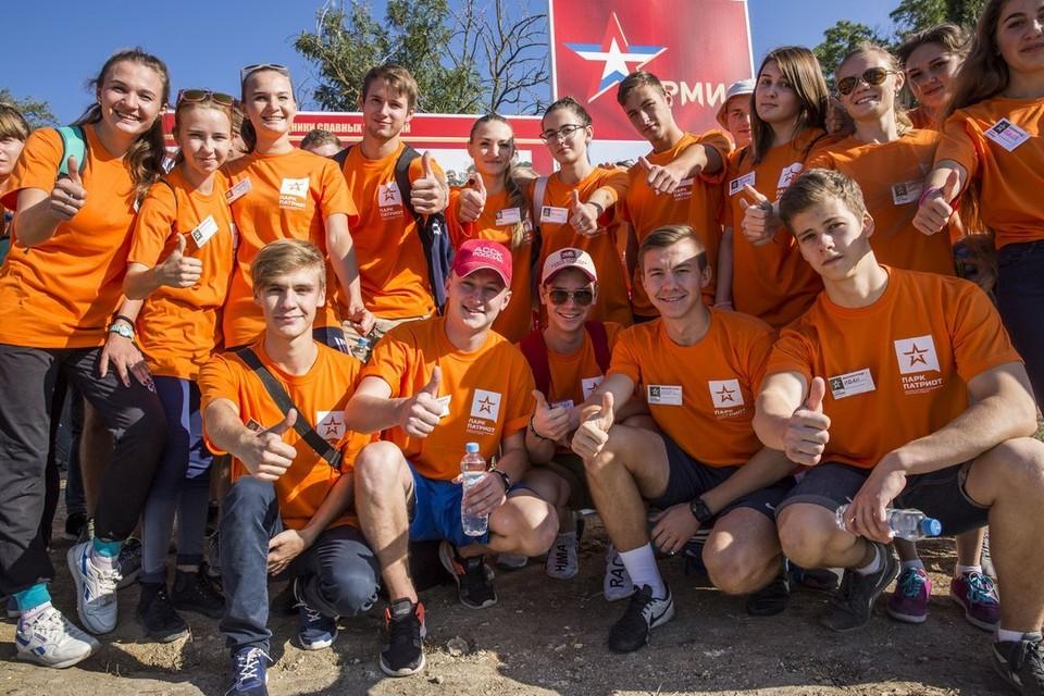 300 школьников из Севастополя и Крыма стали участниками военно-спортивной игры «Патриот».