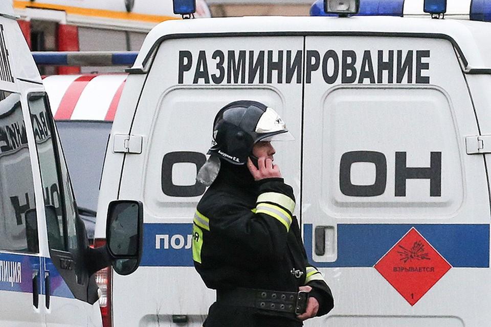 Саперы проверили более 100 зданий по всей России. ФОТО Петр Ковалев/ТАСС