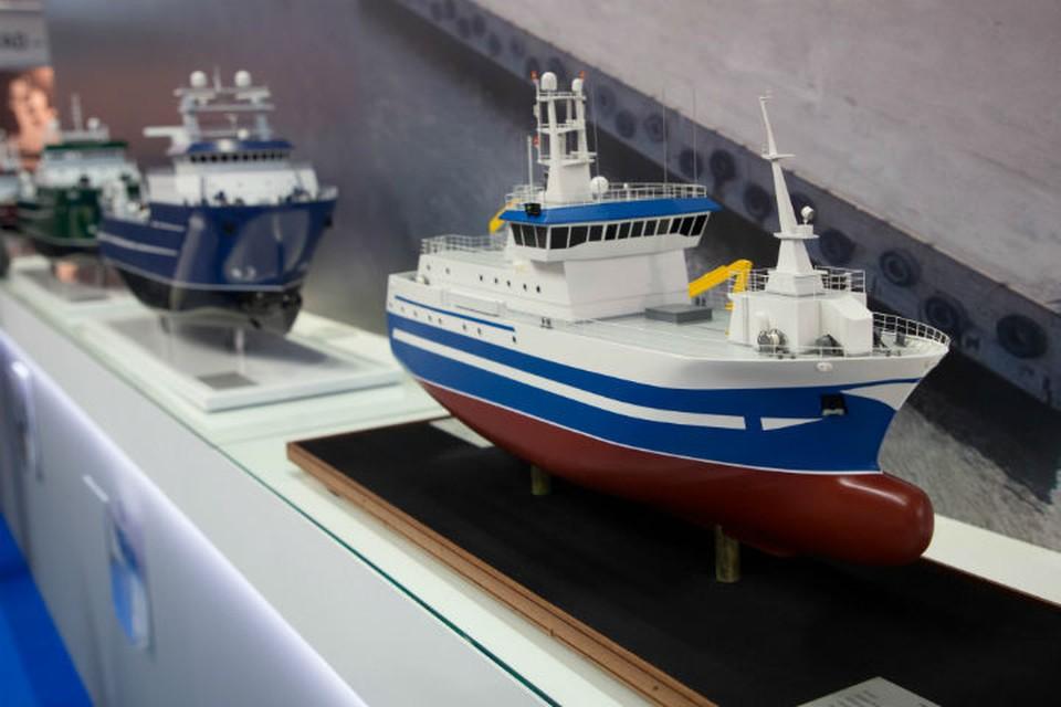 Строительство судов для рыбного промысла в приоритете