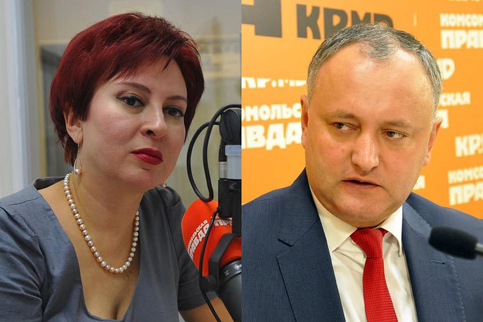 Дарью Асламову в Молдову пригласил президент Игорь Додон