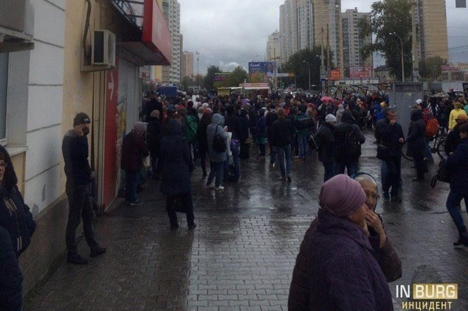 Екатеринбург хулиганы терроризировали семь часов подряд