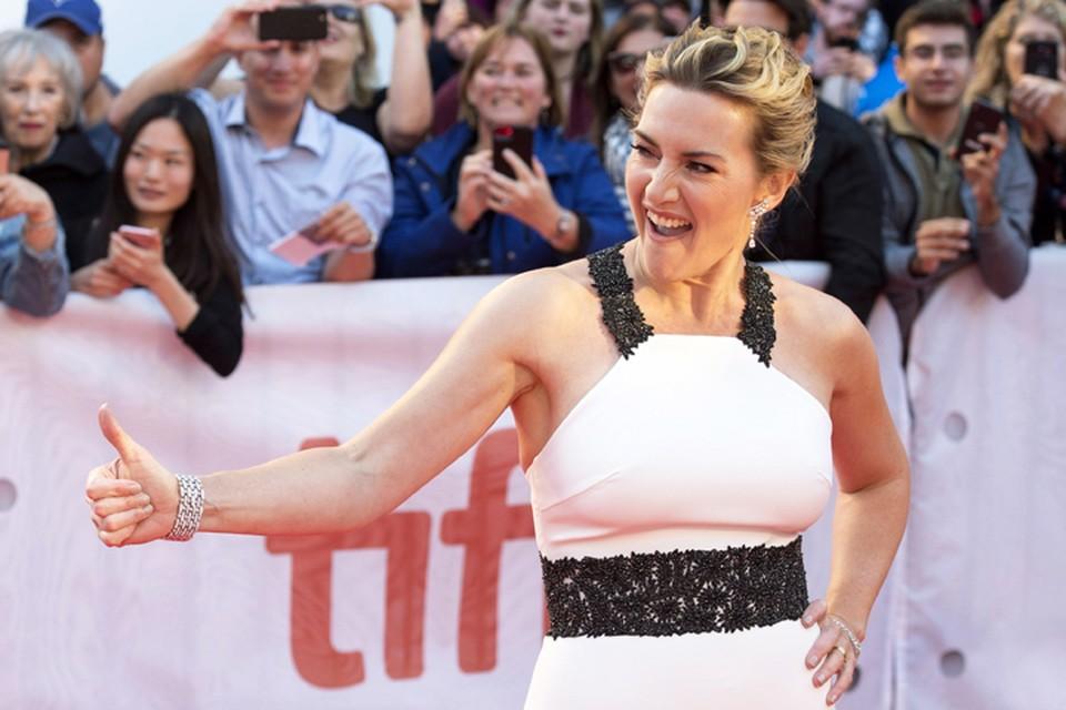 Кейт Уинслет отмечает день рождения - актрисе 42 года.