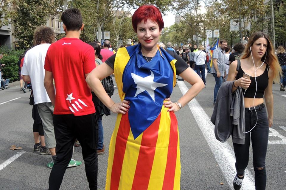 Наш спецкор Дарья Асламова передает из мятежной испанской провинции