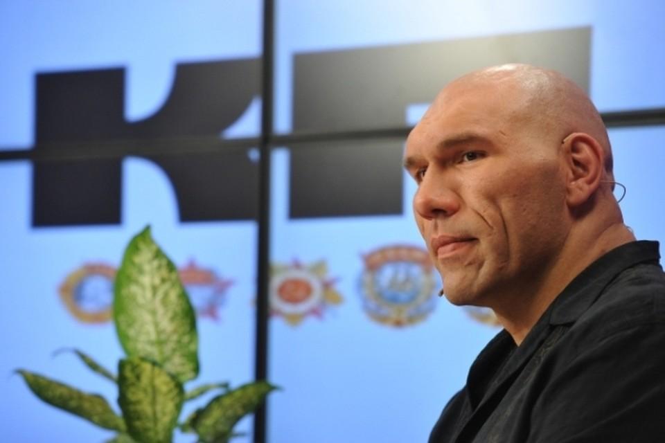 Боксер, депутат Государственной Думы Николай Валуев