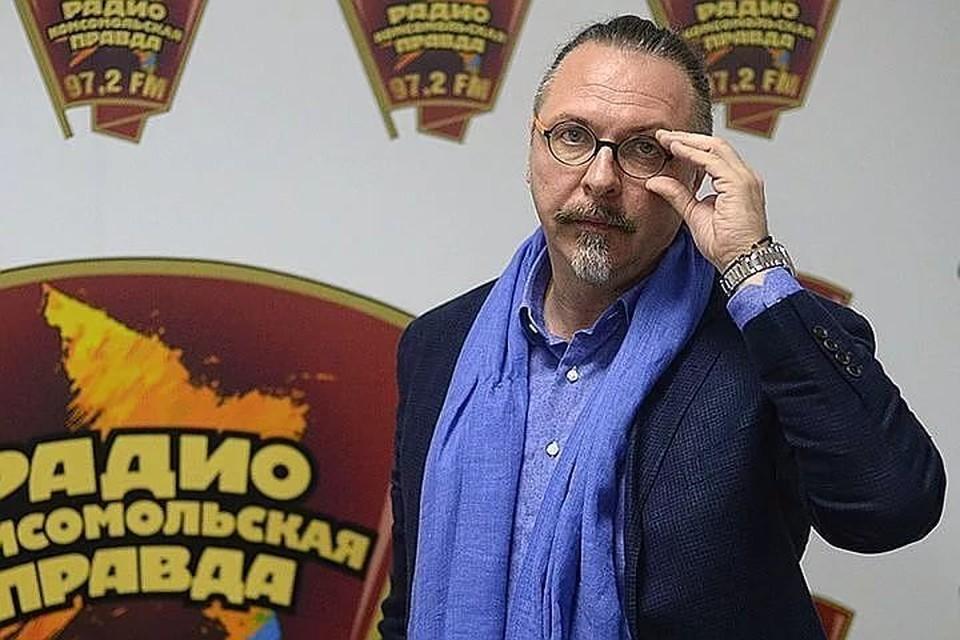 """Режиссёр, продюсер и художественный руководитель театра """"Модерн"""" Юрий Грымов."""