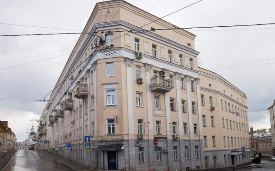 Дом-утюг на Хитровке в Москве. Фото: to-world-travel.ru
