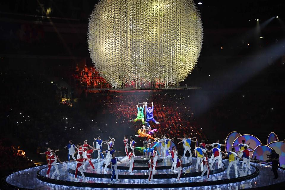 15 октября в ледовом дворце «Большой» в Сочи прошло официальное открытие Всемирного фестиваля молодежи и студентов.