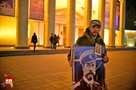 Общественники пикетировали премьерный показ «Матильды» в Новосибирске
