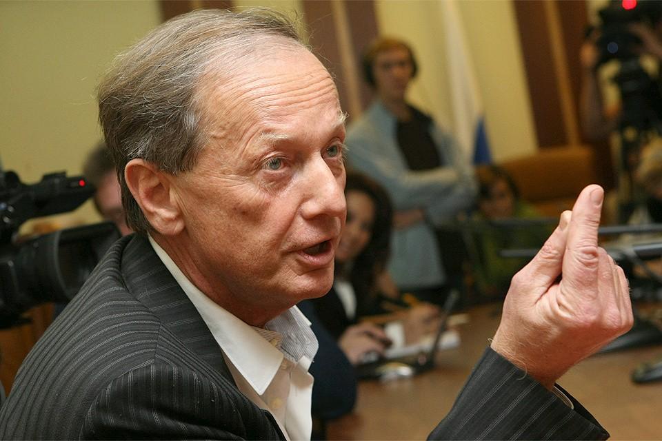 Михаил Задорнов в 2009 году.