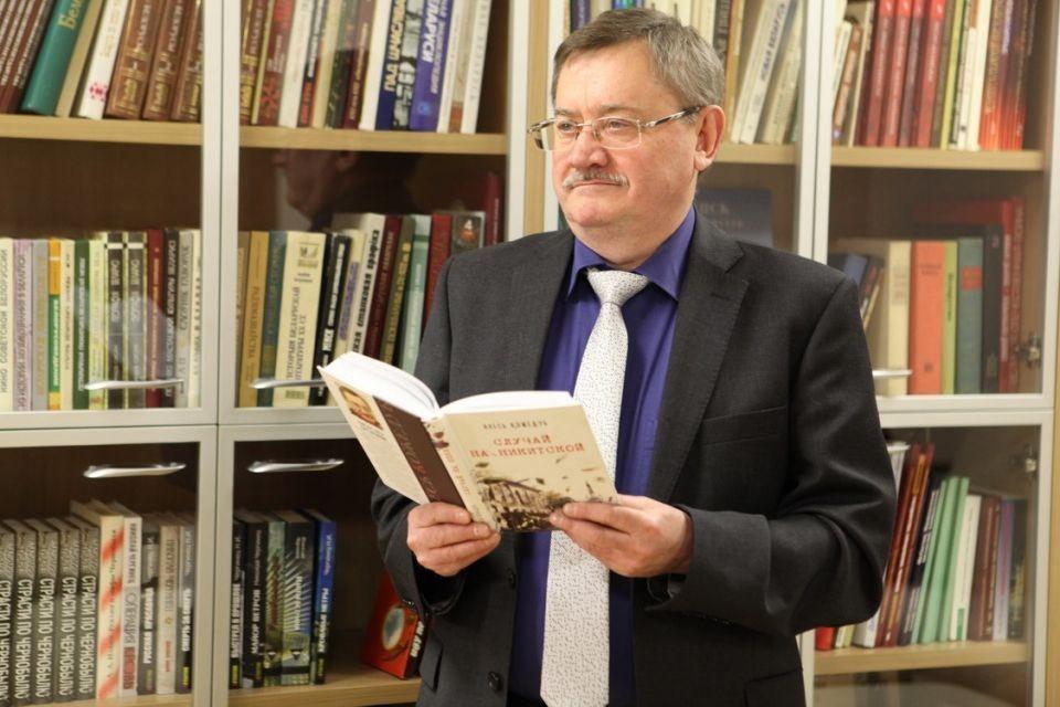 Писатель, прозаик Алесь Кожедуб. Фото: souzveche.ru