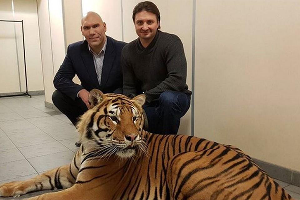 Спортсмен и депутат Госдумы Николай Валуев показал свое бесстрашие