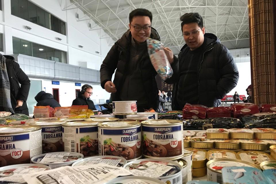 Китайцы больше доверяют российским продуктам, чем своим. Что-то они такое знают...