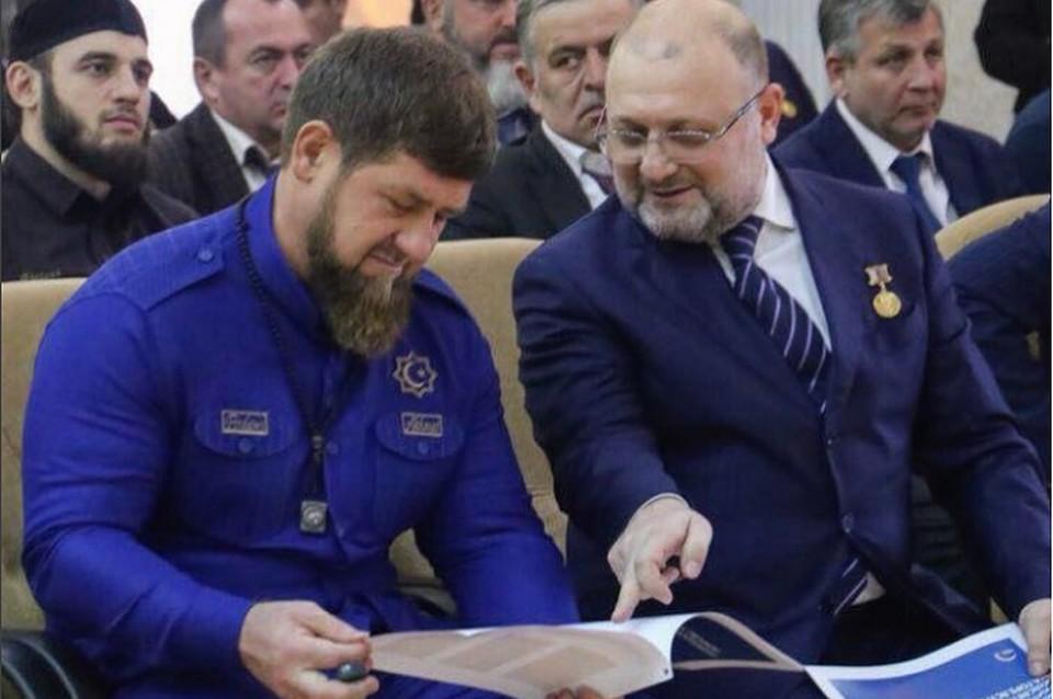 Джамбулат Умаров и Рамзан Кадыров. Фото: https://www.instagram.com.