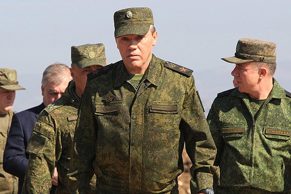 Начальник Генштаба, первый заместитель министра обороны РФ генерал армии Валерий Герасимов