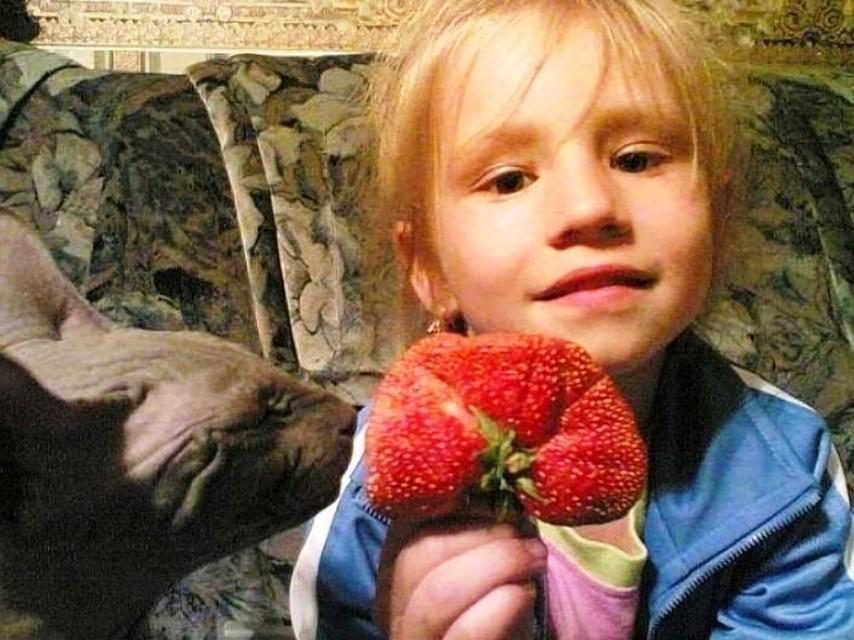 Кот Барсик, дочка Кристина и чудо-урожай.