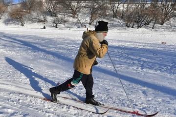 Где покататься на беговых лыжах в Москве