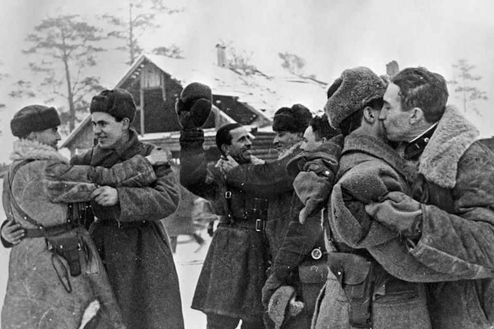 18 января 1943 года соединились части Волховского и Ленинградского фронтов