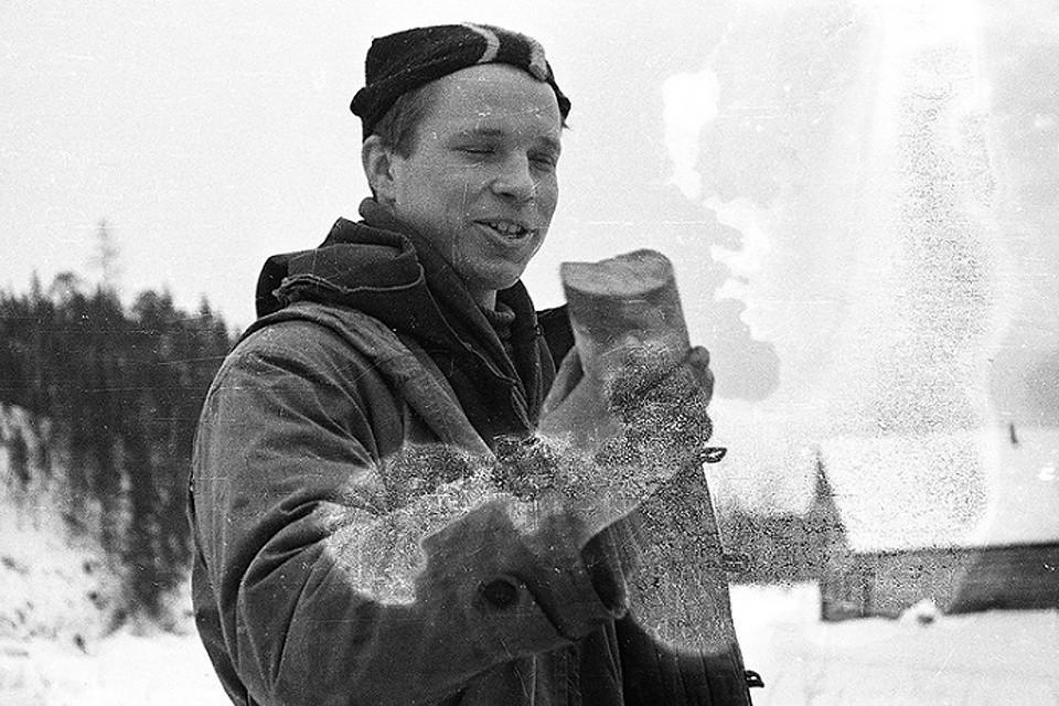 Юрий Юдин в походе 1959 года.