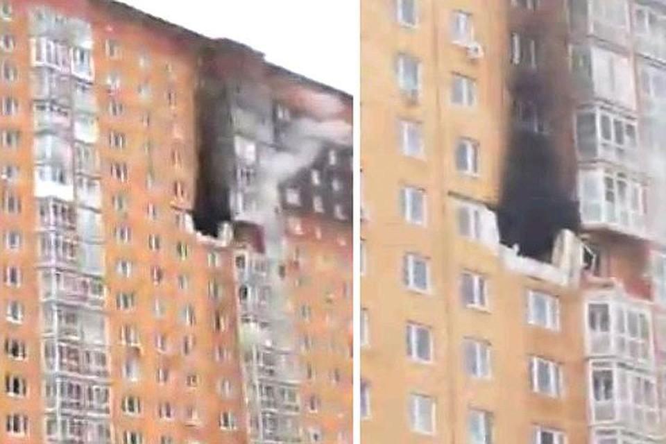 Взрыв произошел в одной из квартир дома №15 жилищного комплекса «Бутово Парк».