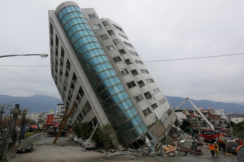 На Тайване произошло несколько землетрясений