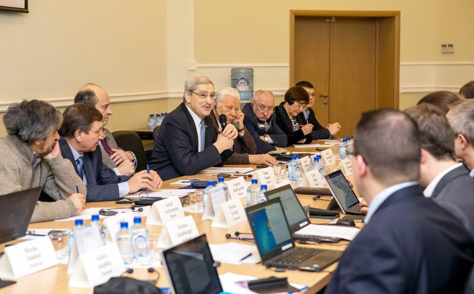 Заседание международной комиссии. Фото предоставлено ИБРАЭ РАН