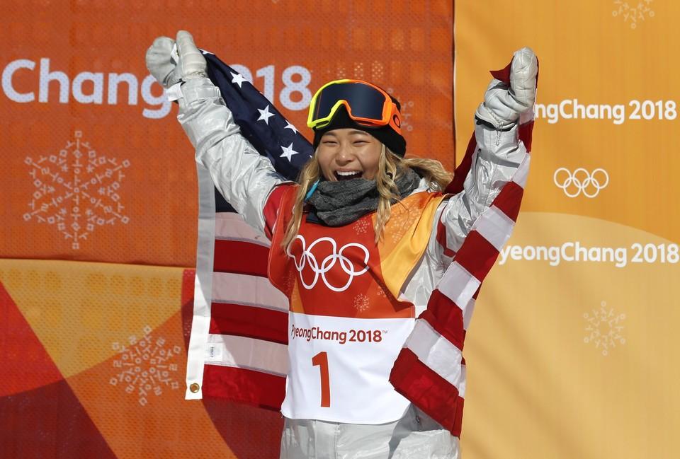 Американка Хлоя Ким - олимпийская чемпионка в хаф-пайпе.