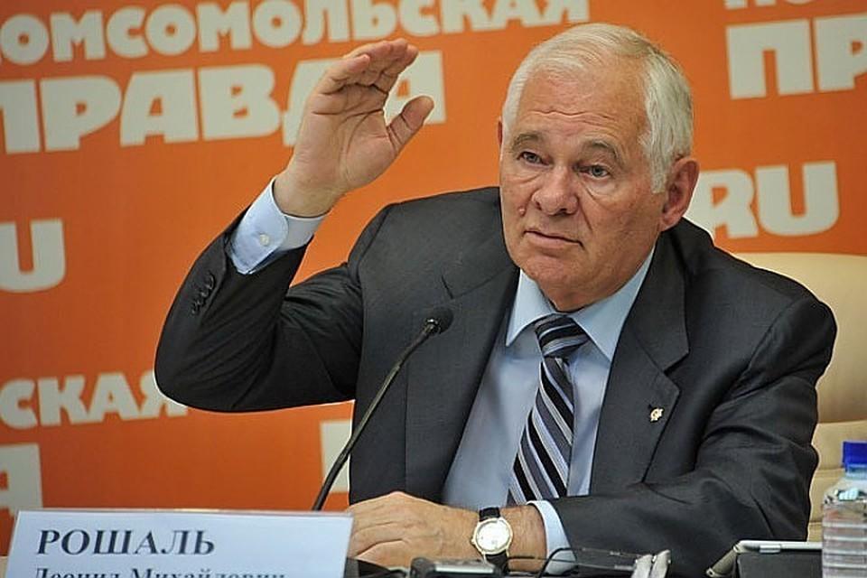 Глава Национальной медицинской палаты Леонид Рошаль