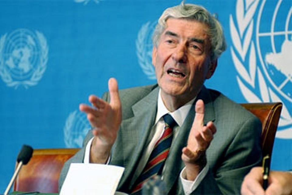 Экс-премьер Нидерландов, бывший Верховный комиссар ООН по делам беженцев Рууд Любберс. Фото: пресс-служба ООН
