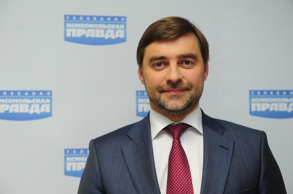 Депутат Сергей Железняк