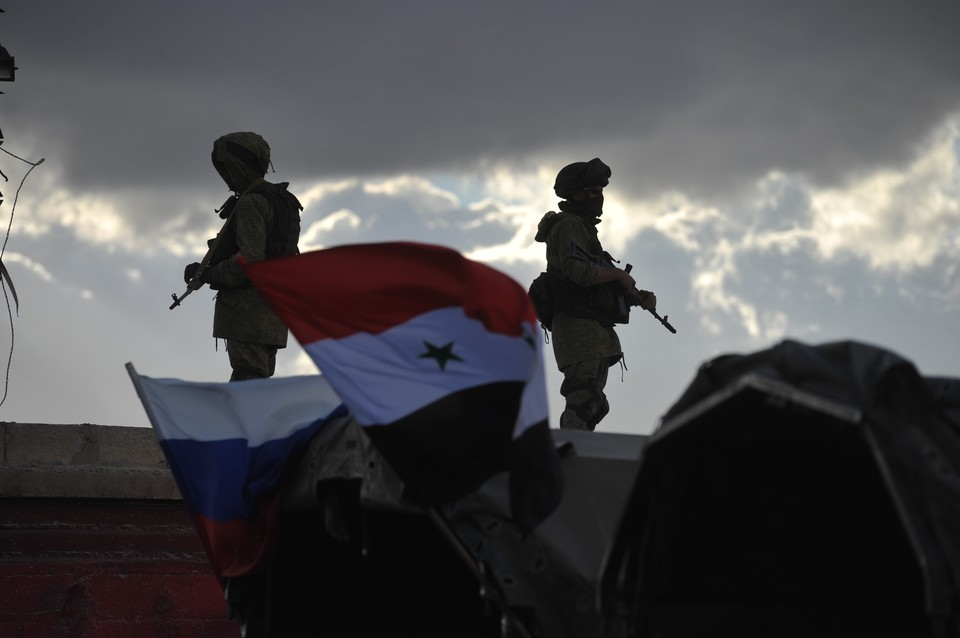 Никто из российских военнослужащих не пострадал