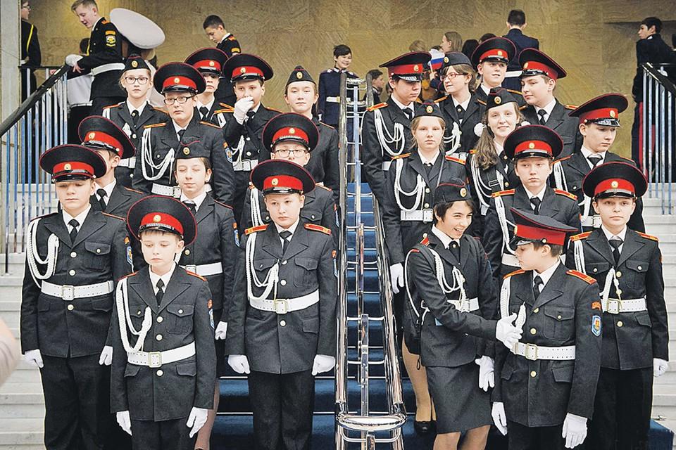 Желающие учиться в кадетских классах в столице проходят строгий отбор. Фото: Евгений САМАРИН/mos.ru