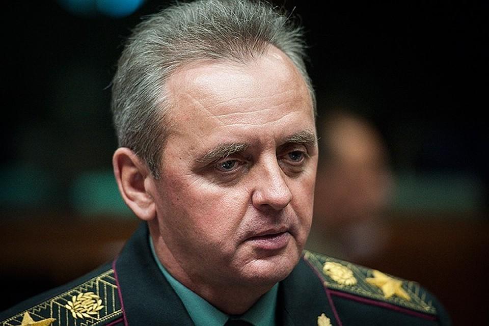 Глава генштаба ВСУ Виктор Муженко. Фото: DPA/TASS