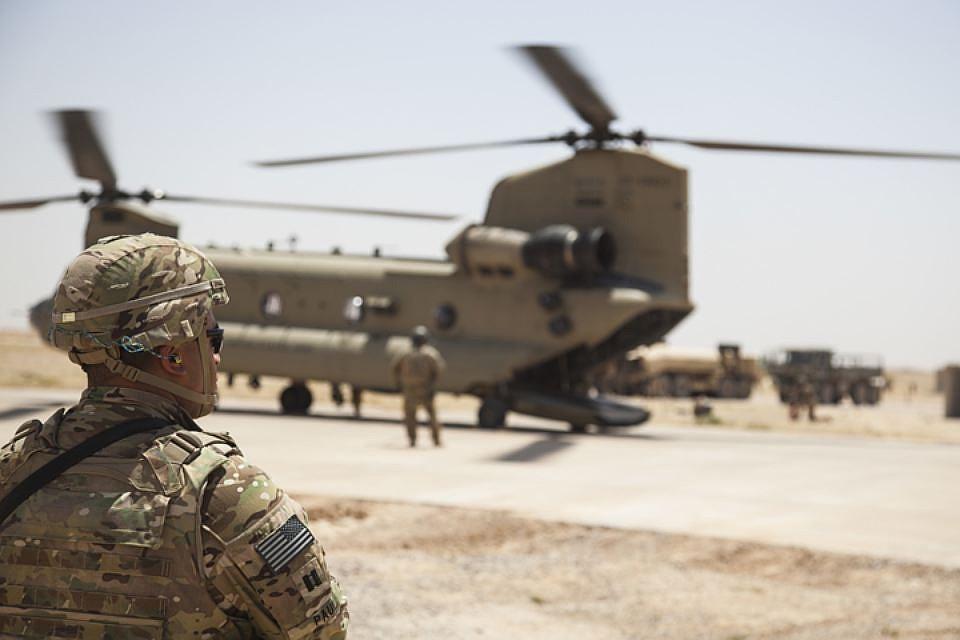 США и их союзники с августа 2014 года проводят в Сирии и Ираке военную операцию «Непоколебимая решимость»