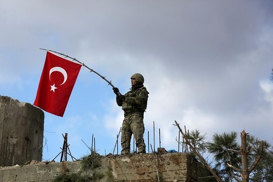 Турецкие военные отчитались об ударе по автоколонне «террористов» в Африне