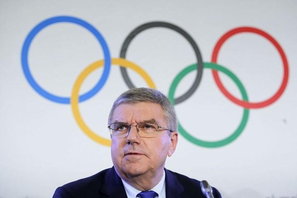 Глава МОК Томас Бах рекомендовал не восстанавливать в правах Олимпийский комитет России