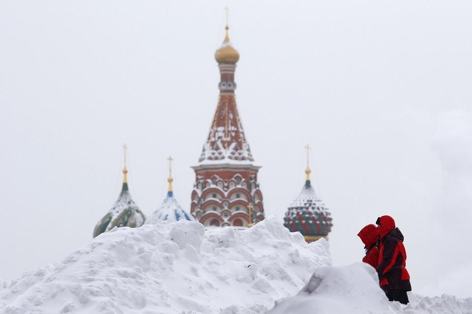В Москве в воскресенье ожидается до 9 градусов мороза