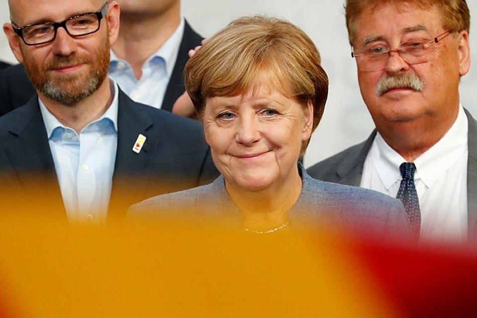 Партия Ангелы Меркель поддержала формирование коалиции с социал-демократорами