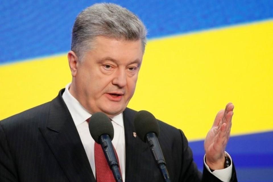 Президент Украины Петр Порошенко на пресс-конференции в Киеве 28 февраля