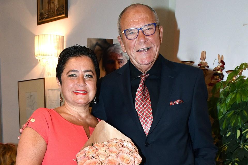 Эммануил Виторган с супругой Ириной.