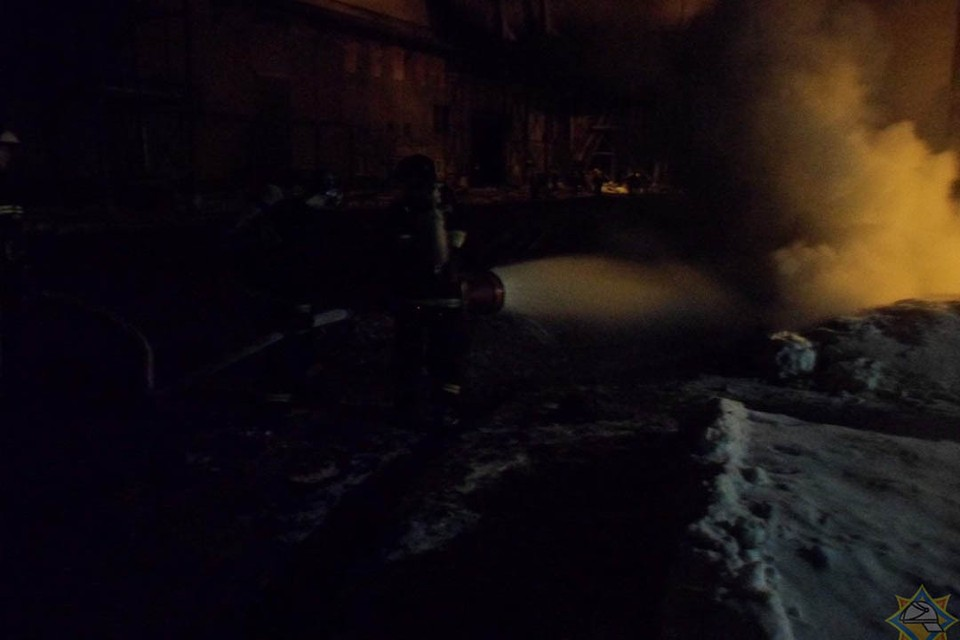 Пожар ликвидирован, пострадавших нет. Фото: пресс-служба МЧС